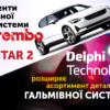 НОВИНИ: компоненти гальмівної системи BREMBO для POLESTAR 2, розширення асортименту Delphi (відео)