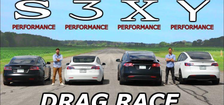 Яка Tesla найшвидша (відео)