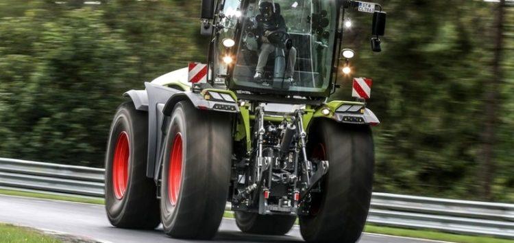 Тракторний рекорд на Нюрбургринзі (відео)