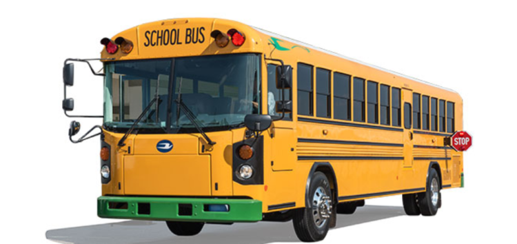 У США хочуть використовувати електричні шкільні автобуси