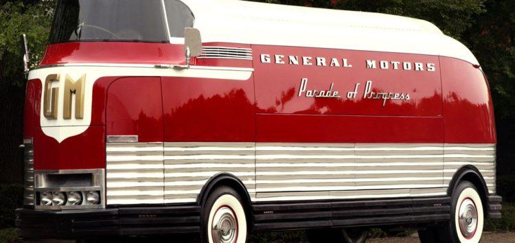 Автобус майбутнього з минулого