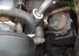 Заміна датчика температури охолоджуючої рідини Jp Group 1293101000 на Opel Vectra (відео)