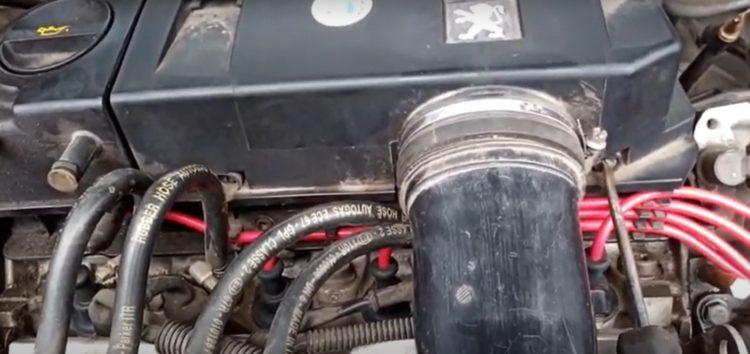 Заміна фільтра повітряного Alpha Filter AF 1643 на авто IKCO Samand (відео)