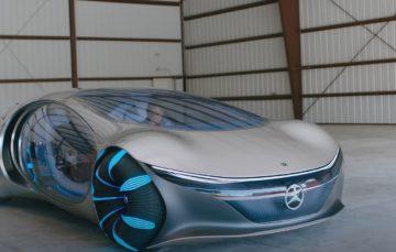 Mercedes-Benz Vision AVTR: концепт, який їде (відео)