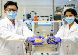 Апельсиновые корки для утилизации батарей