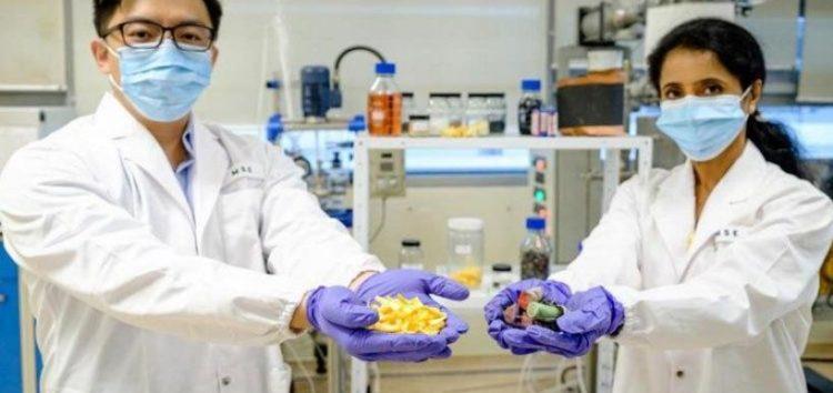 Апельсинові кірки для утилізації батарей