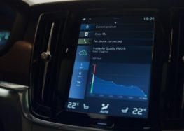 Volvo почистит для вас воздух в салоне