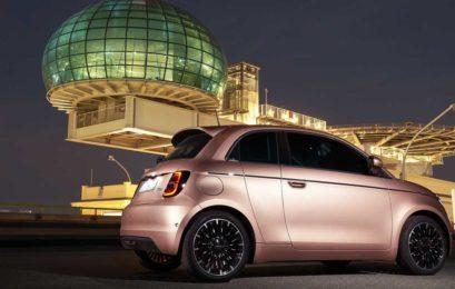 Fiat показал стильный электромобиль