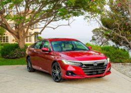 Honda Accord отримала рестайлінг