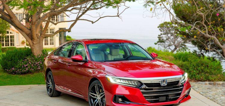 Honda Accord получила рестайлинг