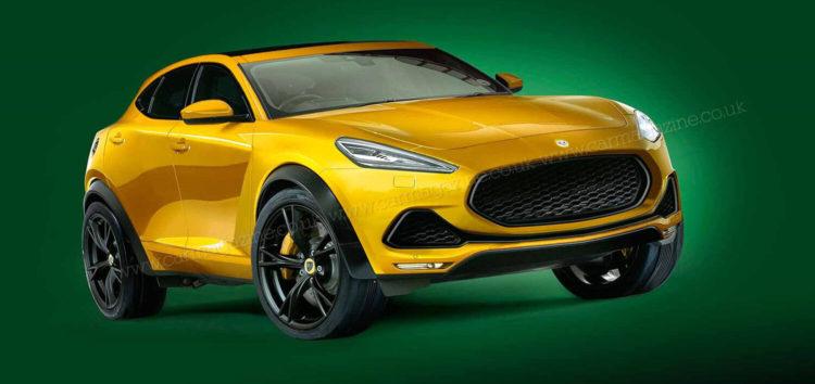 Показали новий кросовер Lotus Lambda