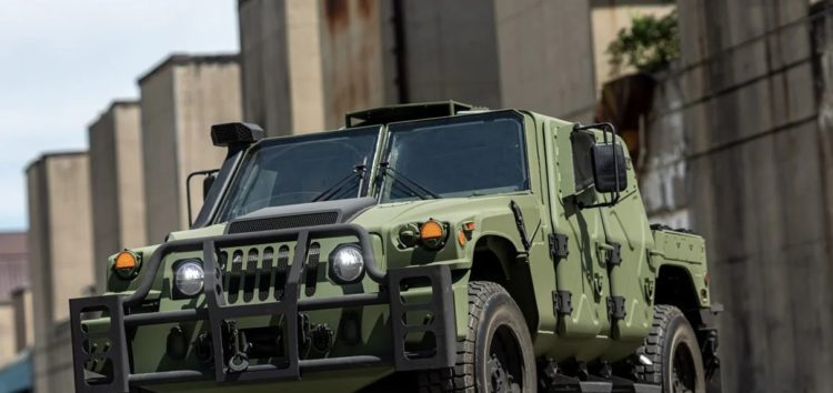 AM General представляє Humvee на стероїдах