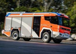 Перший у світі пожежний електромобіль