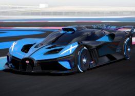 Показали офіційні зображення Bugatti Bolide