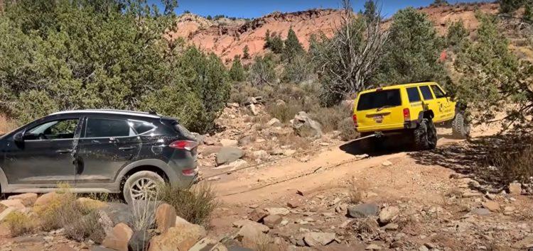Подивіться, куди зміг заїхати Hyundai Tucson (відео)