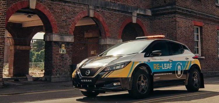 Nissan Leaf рятівник та тест автопілотів (відео)