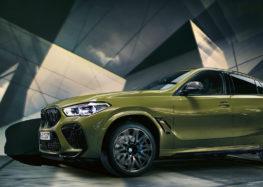 Новий BMW X6 M вже на дорогах України