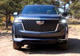 Cadillac Escalade 2021 загнали на бездоріжжя (відео)
