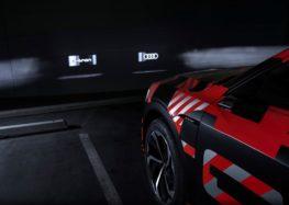Audi розробила фари-проектори для своїх електромобілів (відео)