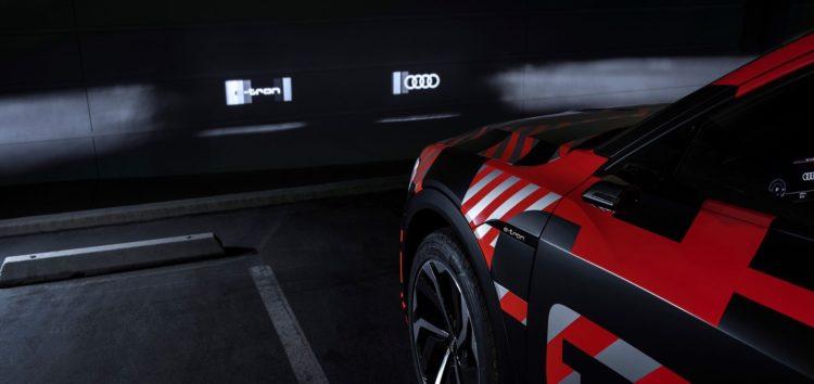 Audi разработала фары-проекторы для своих электромобилей (видео)
