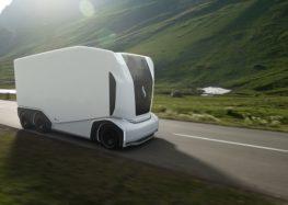 Шведський стартап Einride представив безпілотні електричні вантажівки