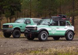 Ford Bronco переробили в пожежний автомобіль