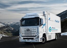 Hyundai показав перші водневі вантажівки (відео)