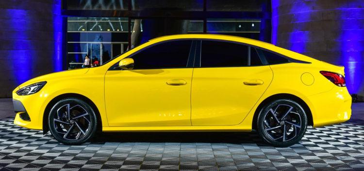 Новий седан MG з дизайном Hyundai