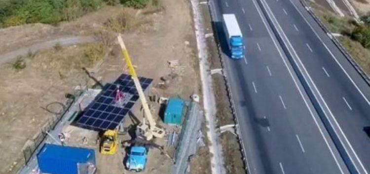 Ділянки одеської траси отримають сонячні батареї для освітлення