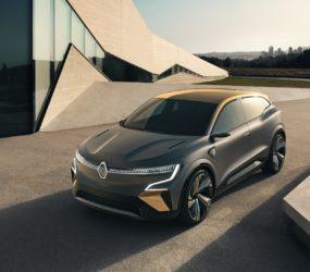 Представлен новый электромобиль Renault Megane eVision