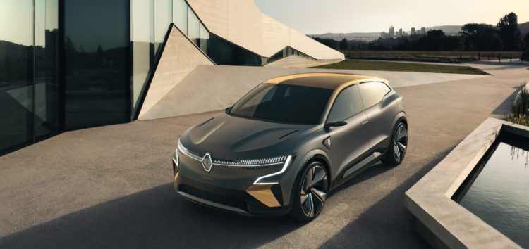 Представлений новий електромобіль Renault Megane eVision