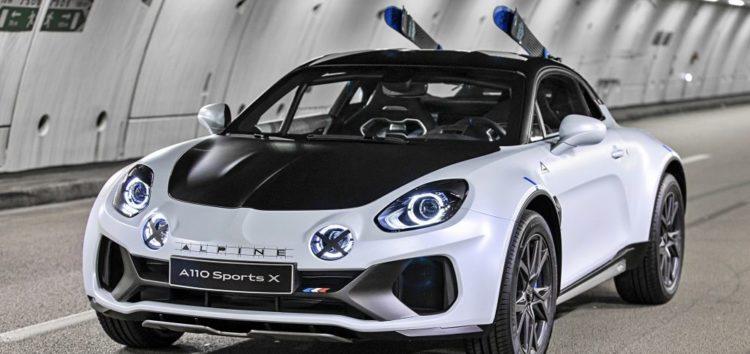 Компанія Renault запатентувала дизайн шоу-кара A110 SportsX
