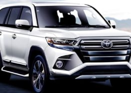 Деталі про нову Toyota Land Cruiser 300