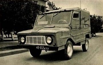 Маловідомі «Запорожці»: ЗАЗ-969 електро