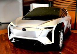 Subaru показав перший електромобіль бренду