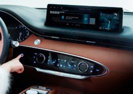 Кросовер Genesis GV70 отримає біометричний замок