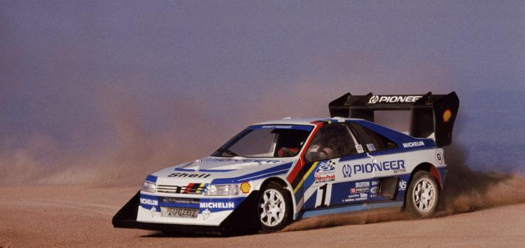 Peugeot 405 T16 GR Pikes Peak: цар гори