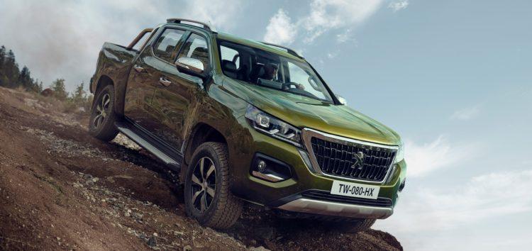 Peugeot Landtrek представили в необычном дизайне