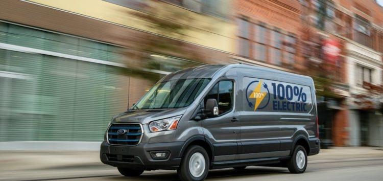Ford анонсувала випуск електричного фургона E-Transit