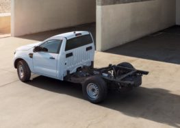 Ford пропонує шасі Ranger з кабіною для спецмашин