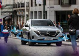Mercedes-Benz запропонує звуки електрокара на вибір
