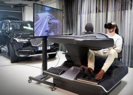 Volvo використовує VR для симуляції водіння