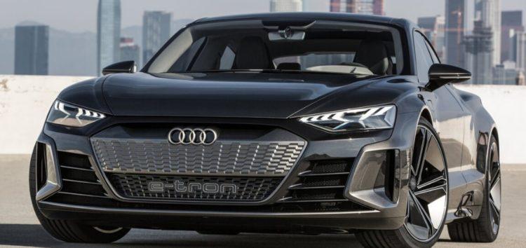 Ауді показала новий спортивний електромобіль e-tron GT
