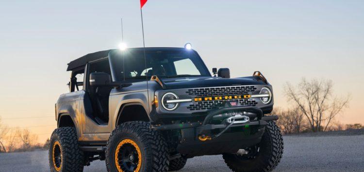 Ford представить свій новий дводверний позашляховик