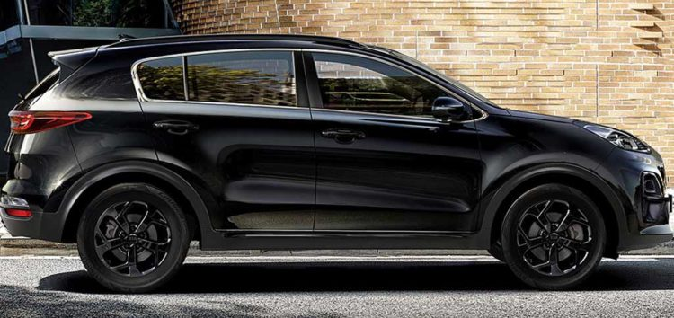 Новий чорний кросовер Kia Sportage вже в Європі
