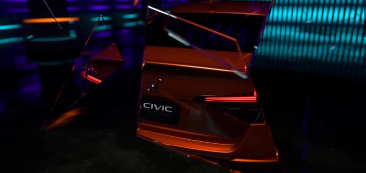 Honda показала фото нового Civic