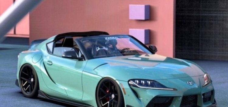 Показали незвичайну версію Toyota GR Supra