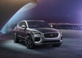 Jaguar представила оновлений кросовер E-Pace
