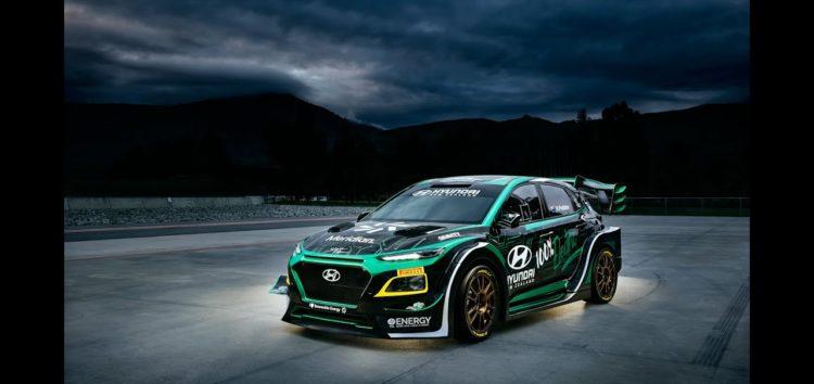 Hyundai Kona перетворили на гоночний електрокар