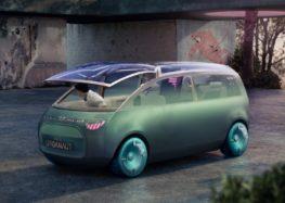 BMW представила незвичайний концепт Mini Vision Urbanaut